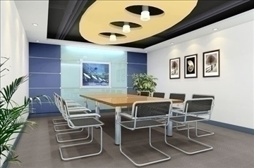 boardroom 006 3d model 3ds max 83006