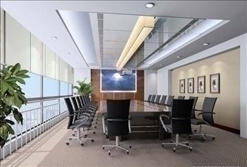 boardroom 007 3d model 3ds max 83009