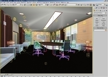 boardroom 008 3d model 3ds max 83012