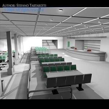 bowling building 3d model 3ds dxf c4d obj 82434