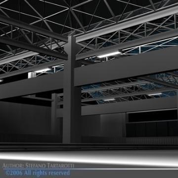 autostāvvietas ēka 3d modelis 3ds dxf c4d obj 77680