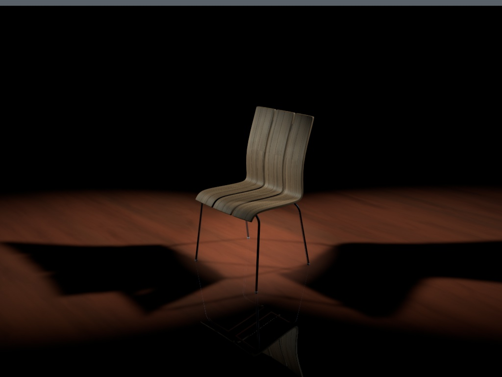 chair 3d model 3ds c4d 117293