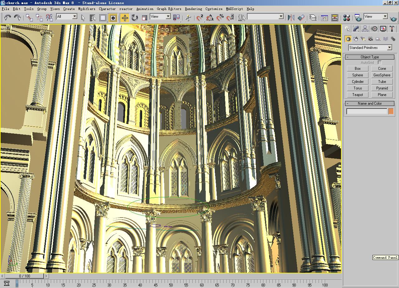 church 01 3d model max 125281