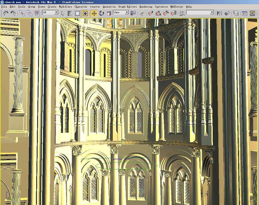 church 01 3d model max 125282