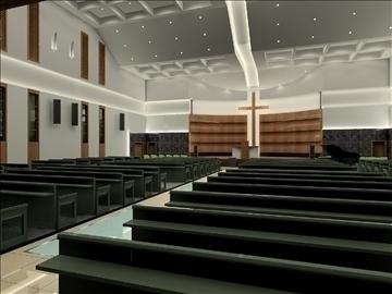 church interier 3d model 3ds max jpeg jpg 81339