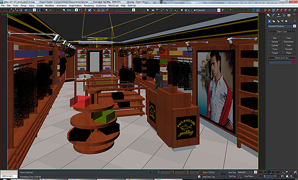 clothing store interior for men and women (render 3d model 3ds max dwg fbx c4d ma mb texture obj 142549