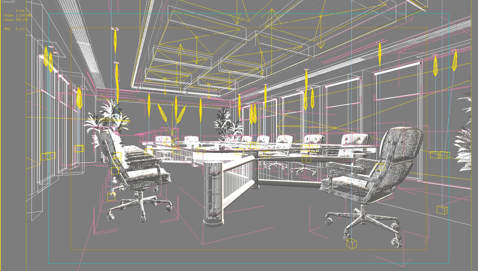 conference 004 3d model max 125718