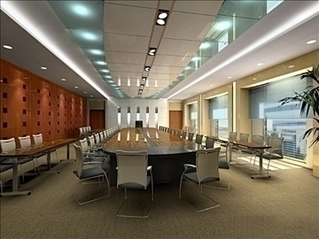 conference 009 3d model 3ds max 89972