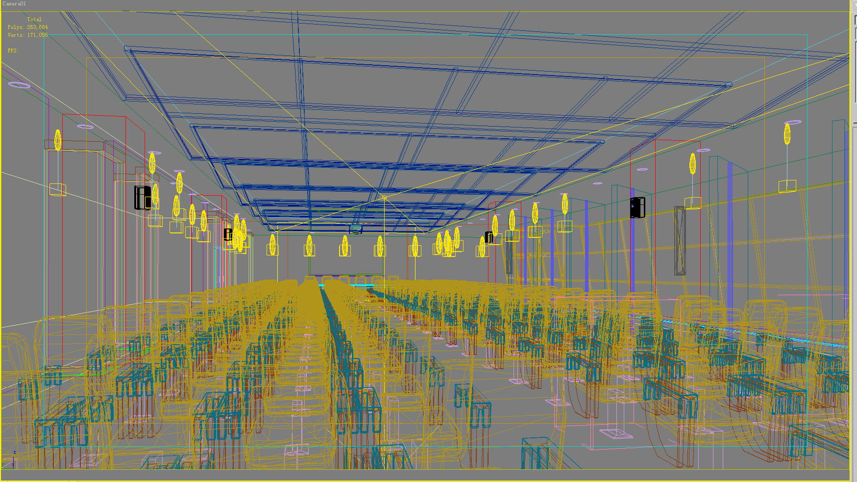 conference 010 two 3d model max 125730