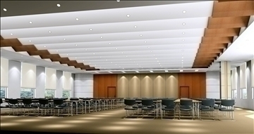 conference 011 3d model 3ds max 89976