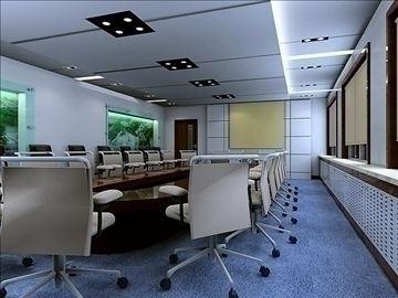 conference 013 3d model 3ds max 89980
