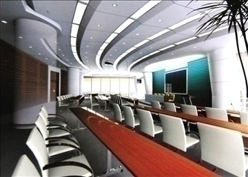 conference 018 3d model 3ds max 89991