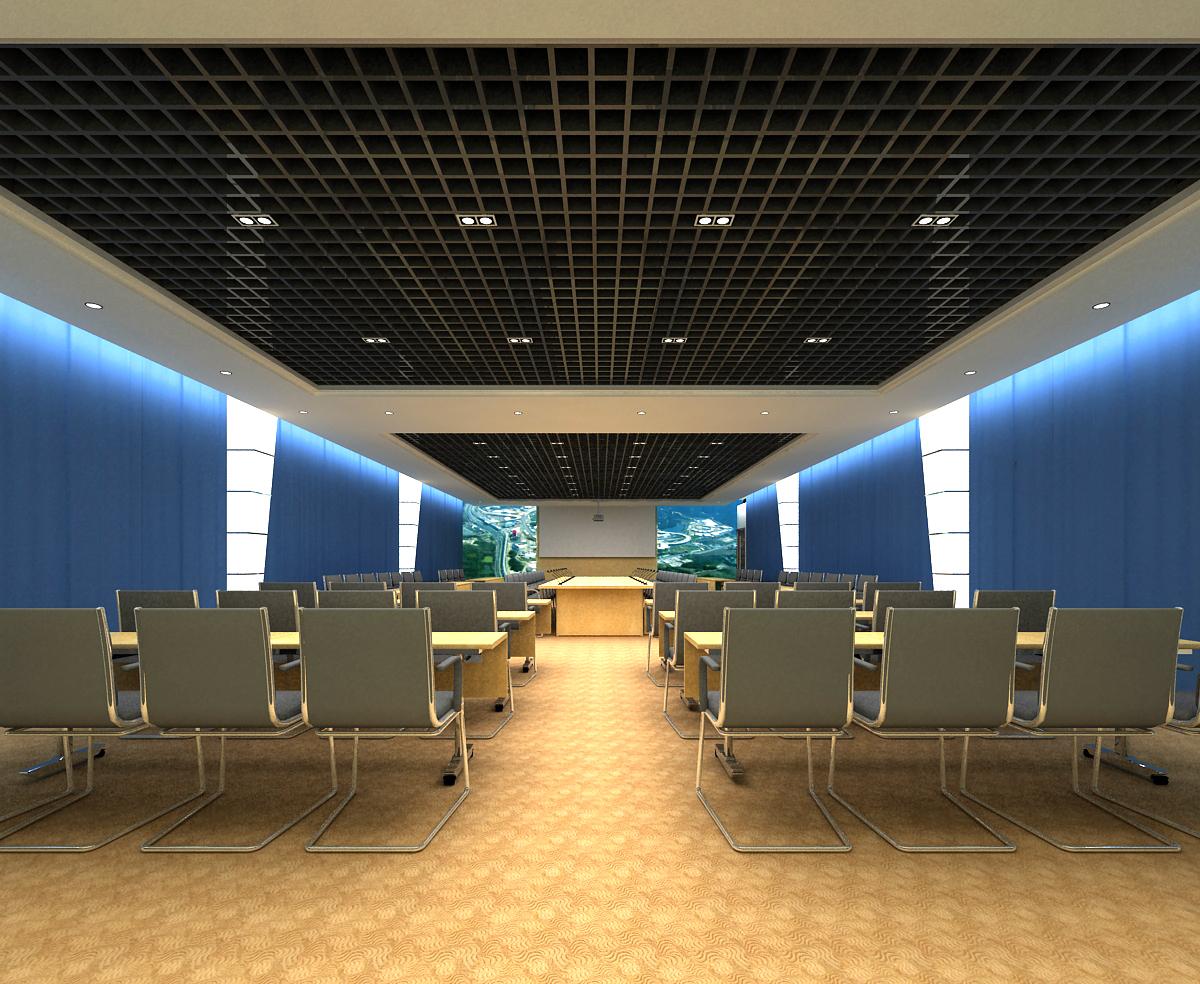 conference 071 3d model max 125901