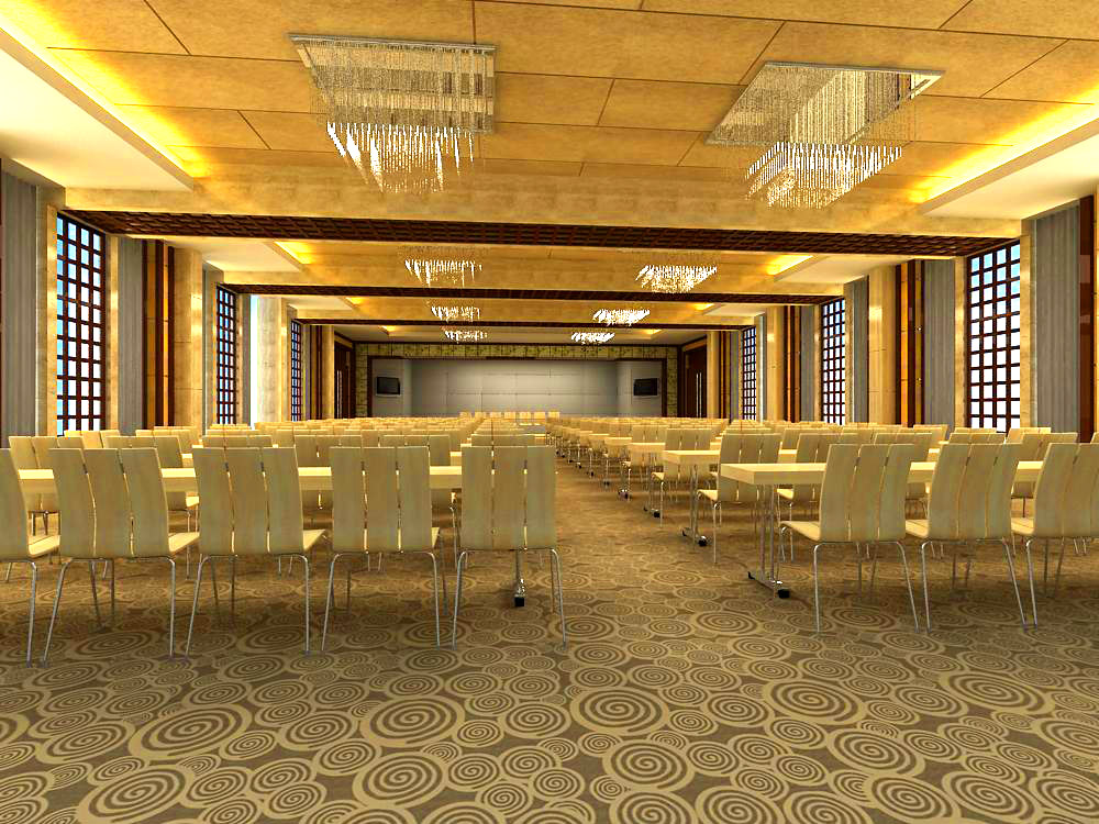 conference room 001 3d model max 138940