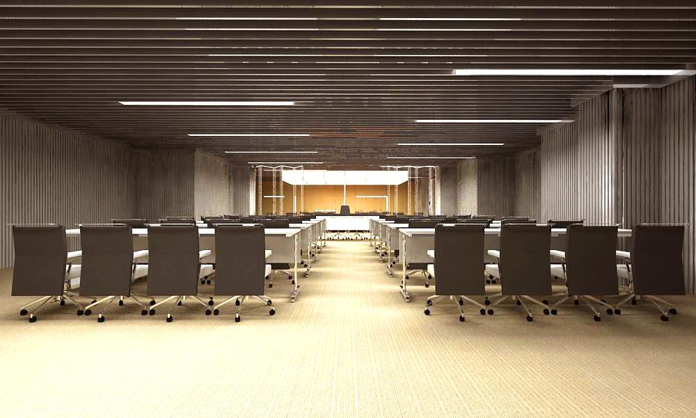 conference room 003 3d model max 138944
