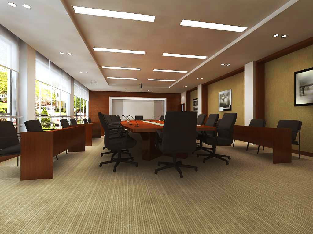 conference room 004 3d model max 138946