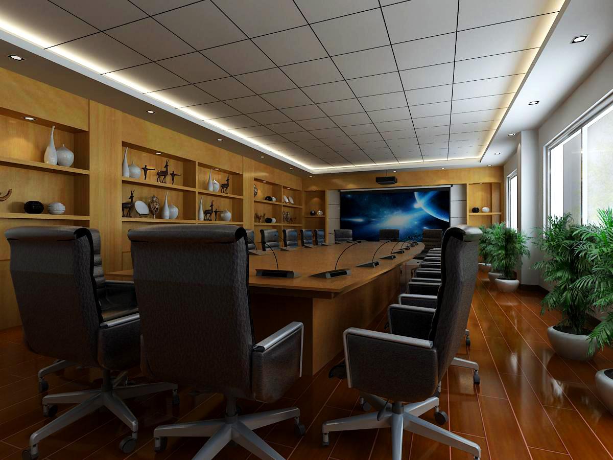 conference room 009 3d model max 138963