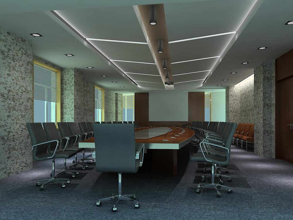 conference room 019 3d model max 138998