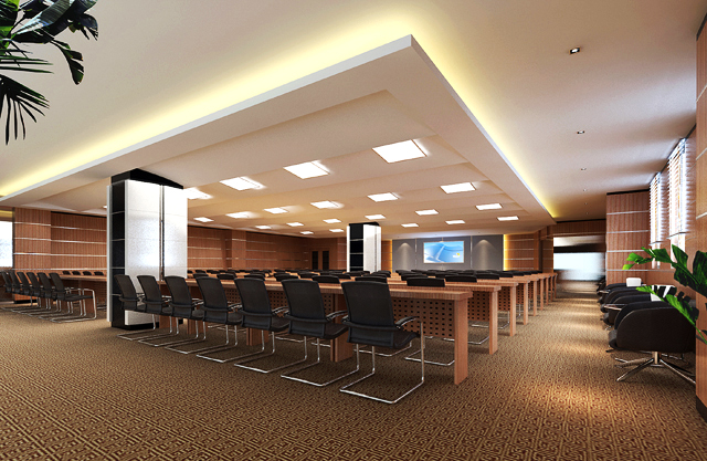 conference room 027 3d model max 139014