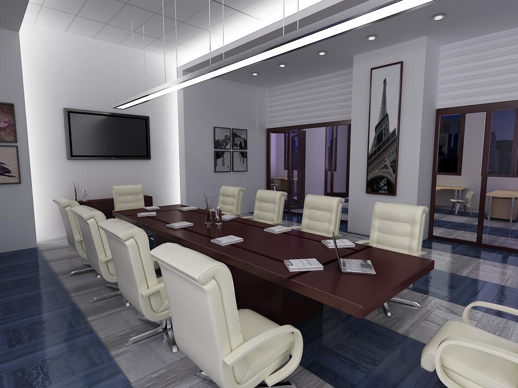 conference room 034 3d model max 139032