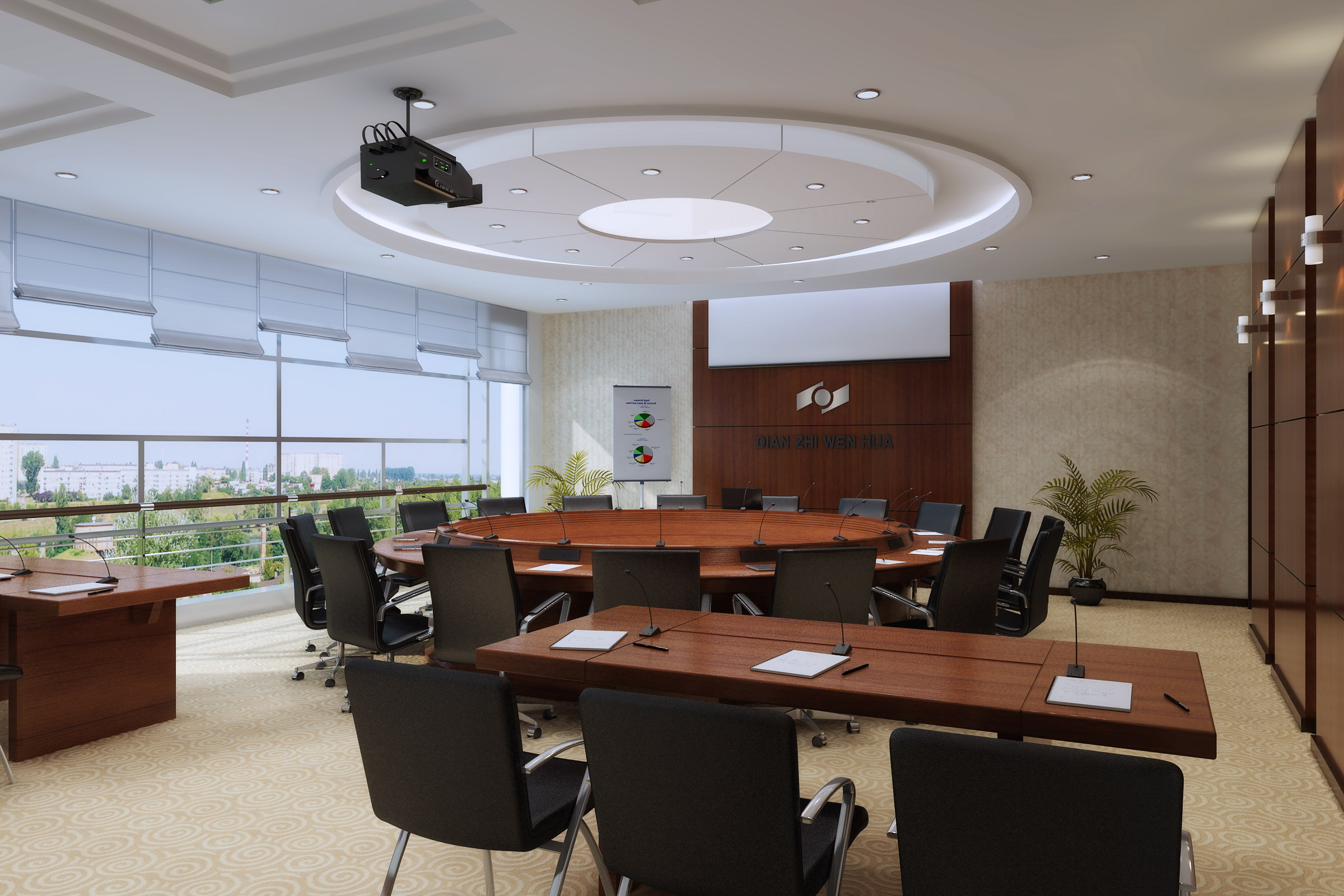 conference room 037 3d model max 139040