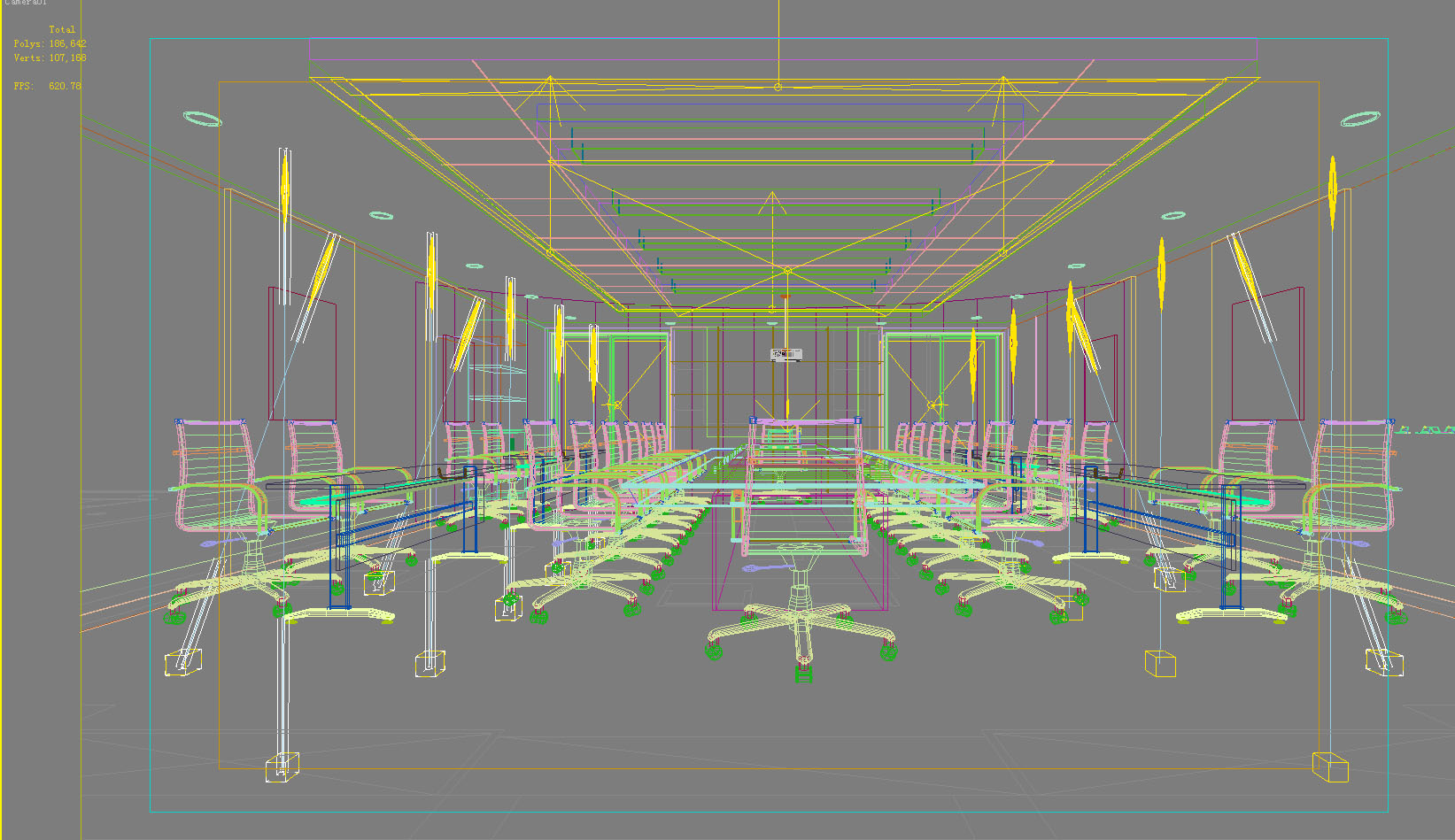 conference room 044 3d model max 139054