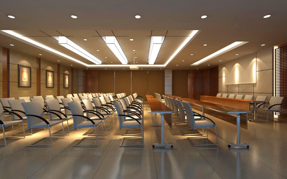конферентна зала 045 3d модел max 139055