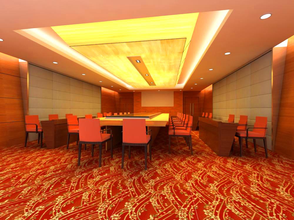 conference room 054 3d model max 139073