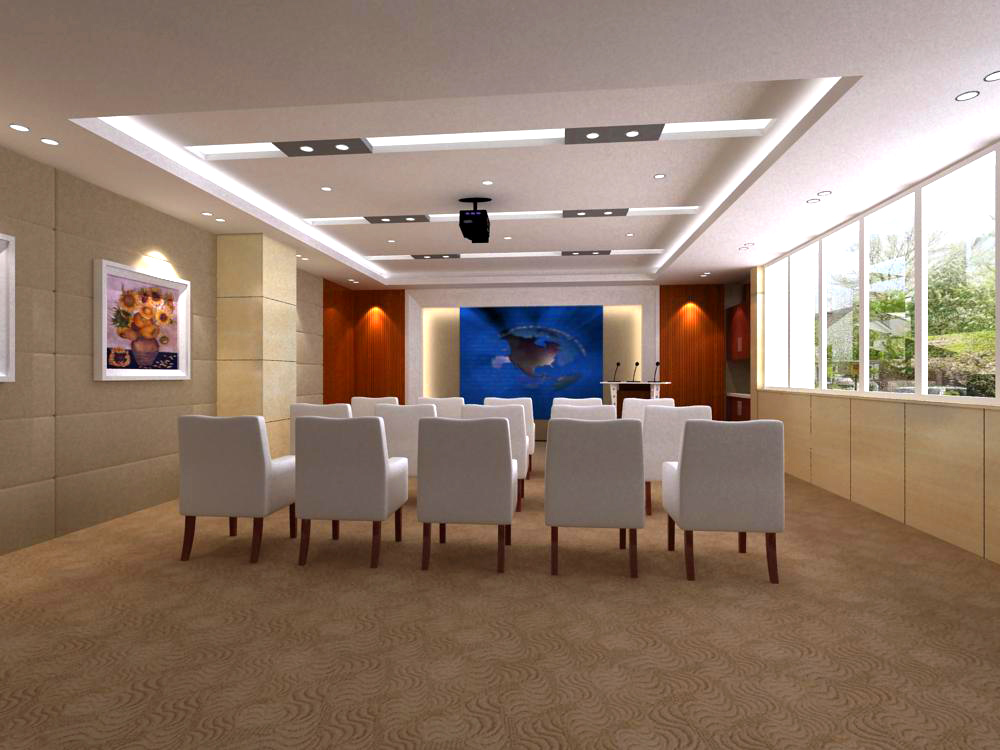 conference room 055 3d model max 139075