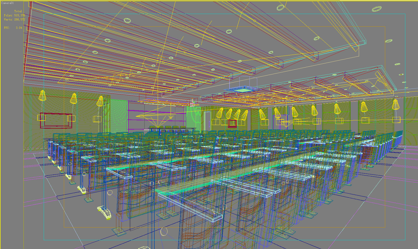 conference room 060 3d model max 139086