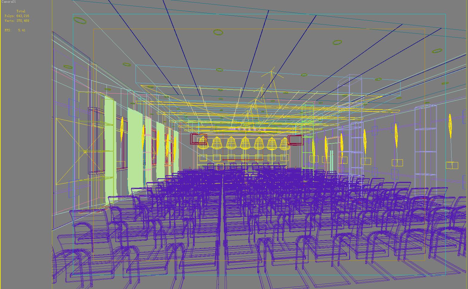 conference room 063 3d model max 139281