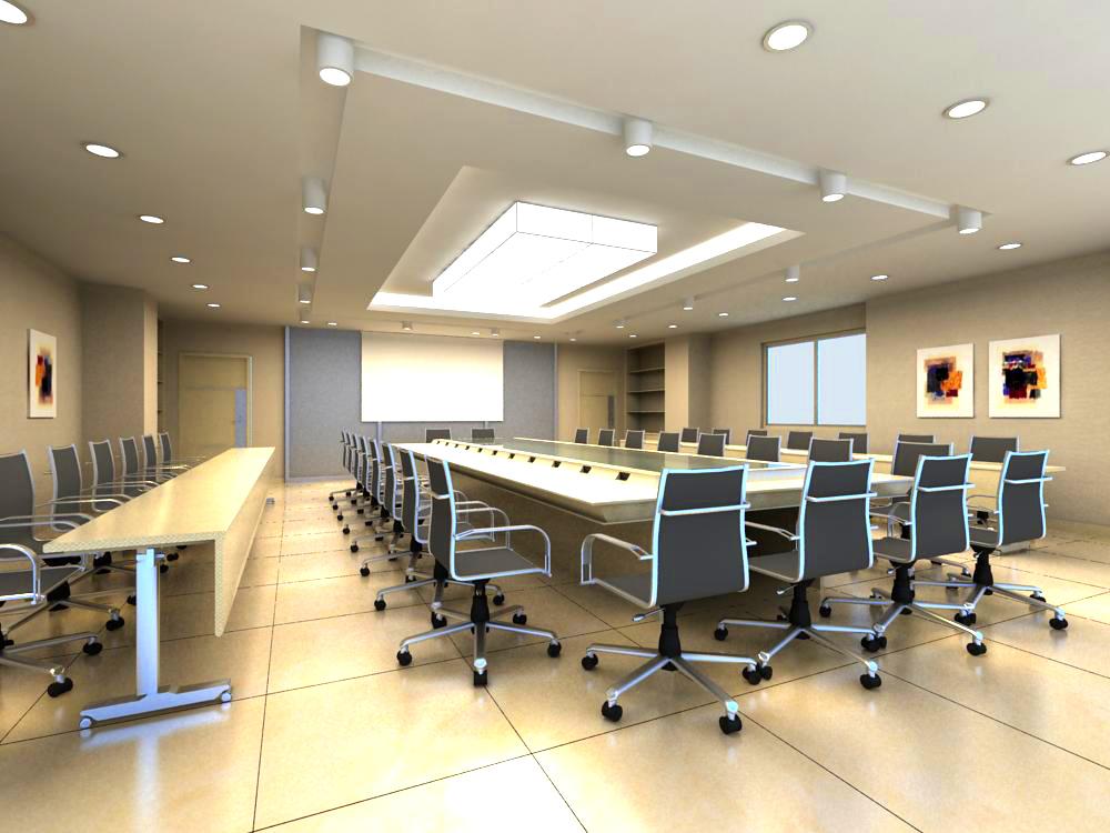 conference room 064 3d model max 139282