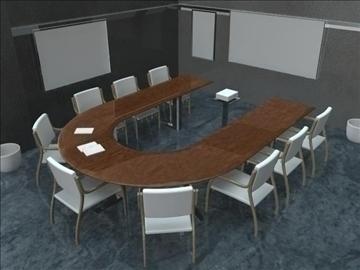 conference room 3d model ma mb obj 91917