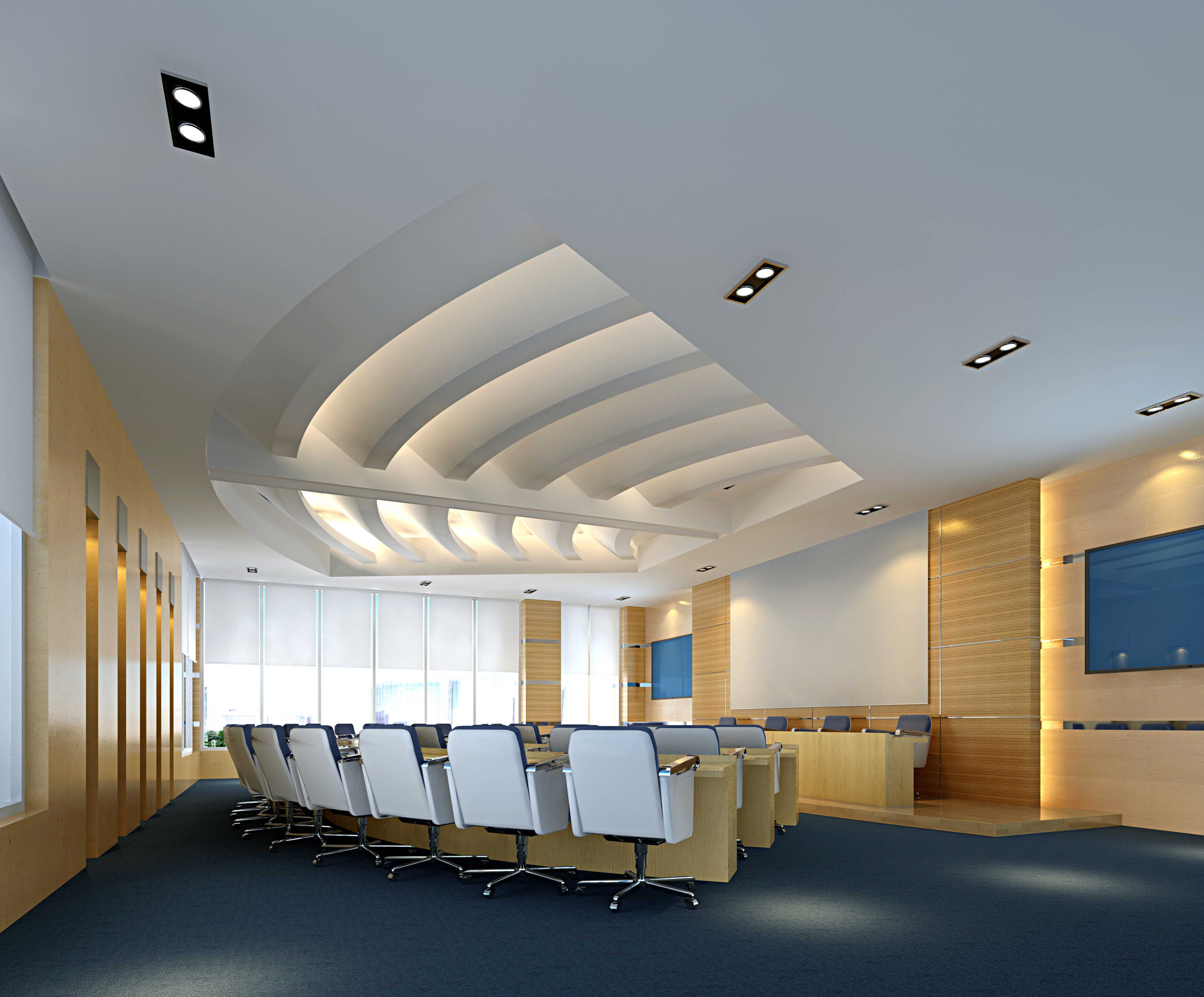 conference spaces 017 two 3d model max 125745