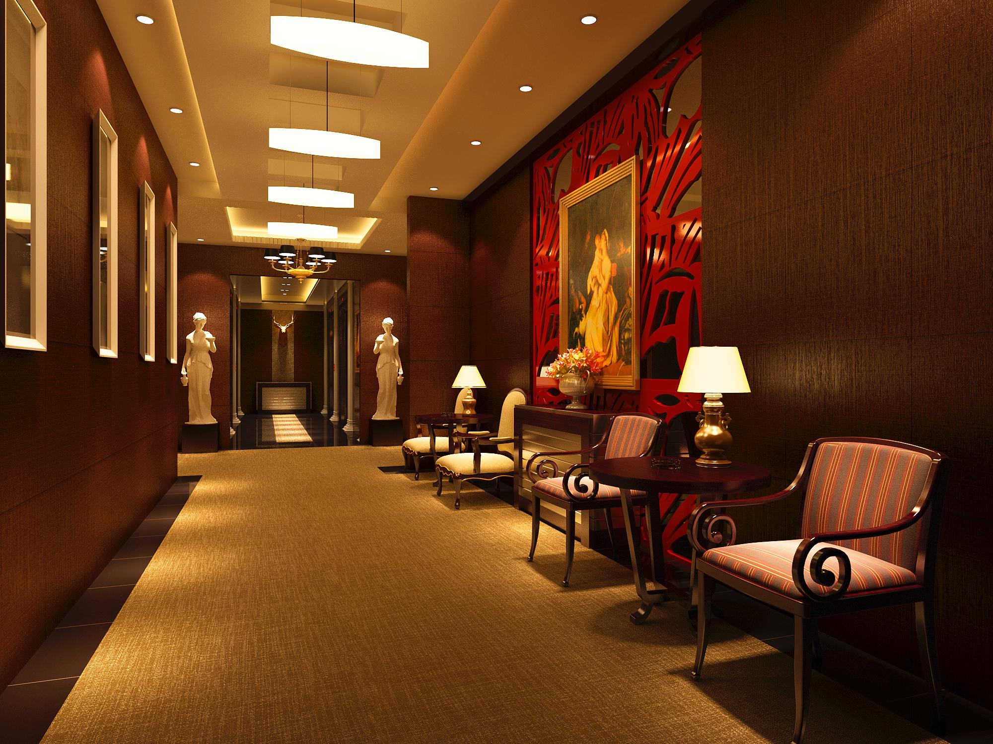 corridor 001 3d model max 139365