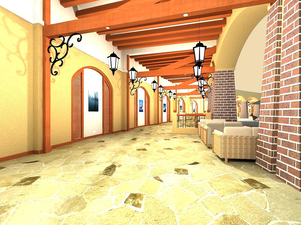 corridor 002 3d model max 139368