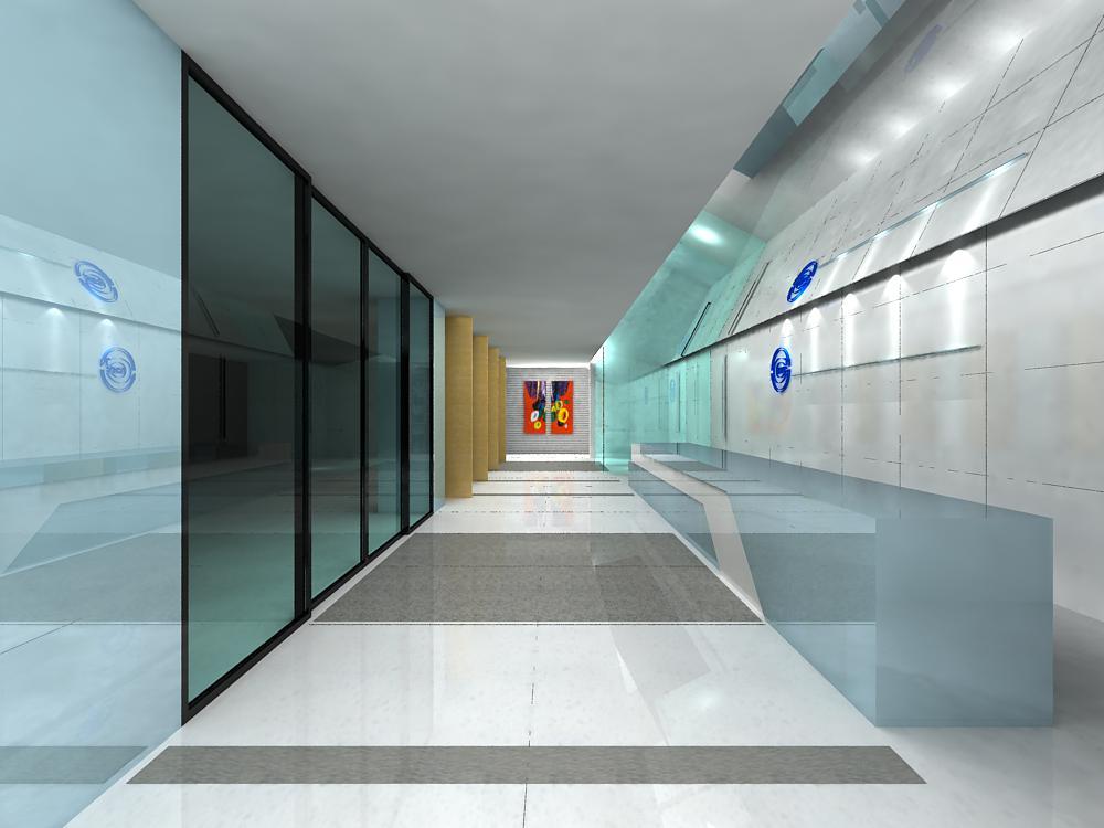 corridor 006 3d model max 139388