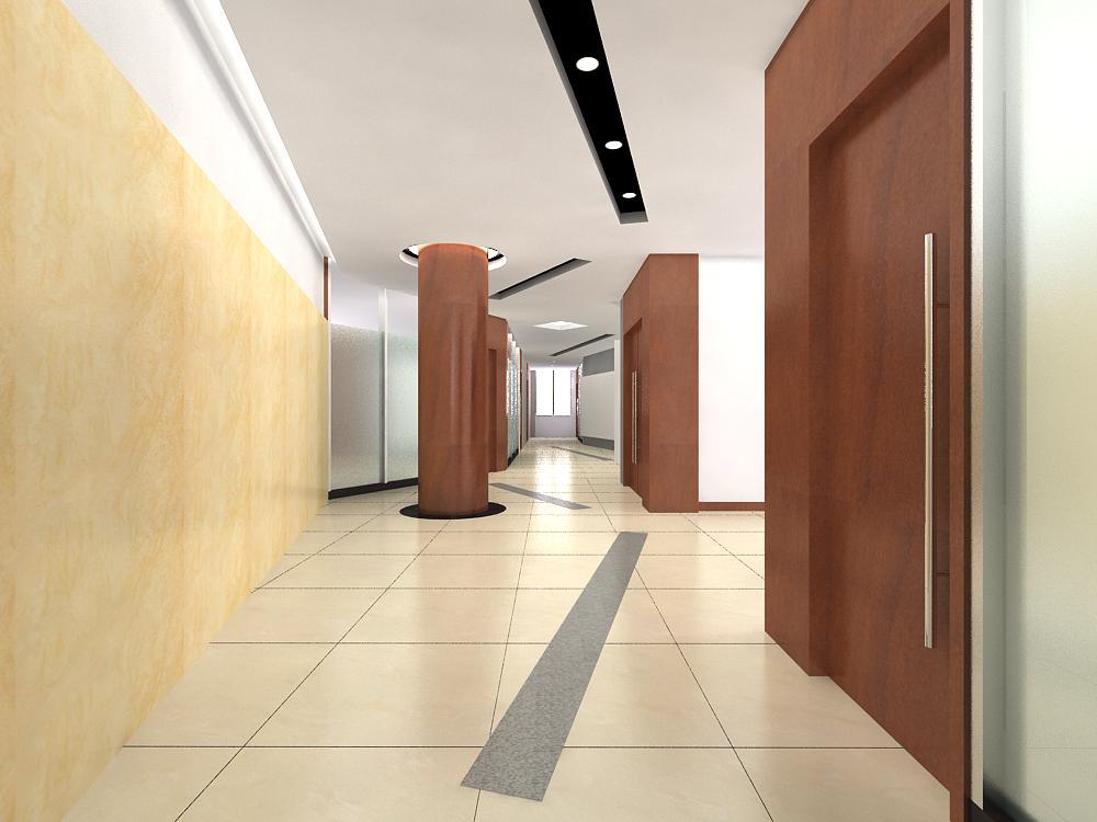corridor 008 3d model max 139392
