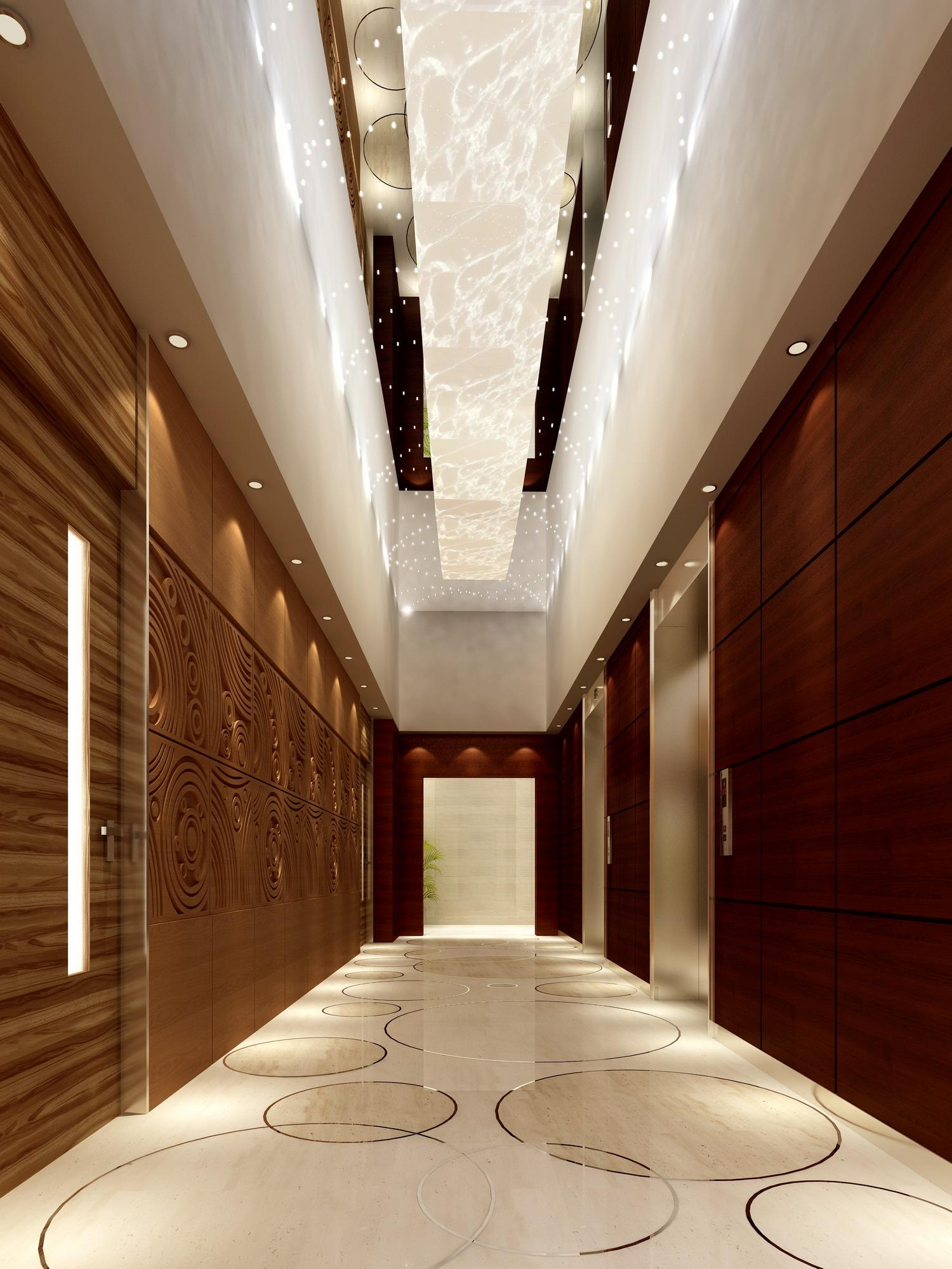 corridor 009 3d model max 139394