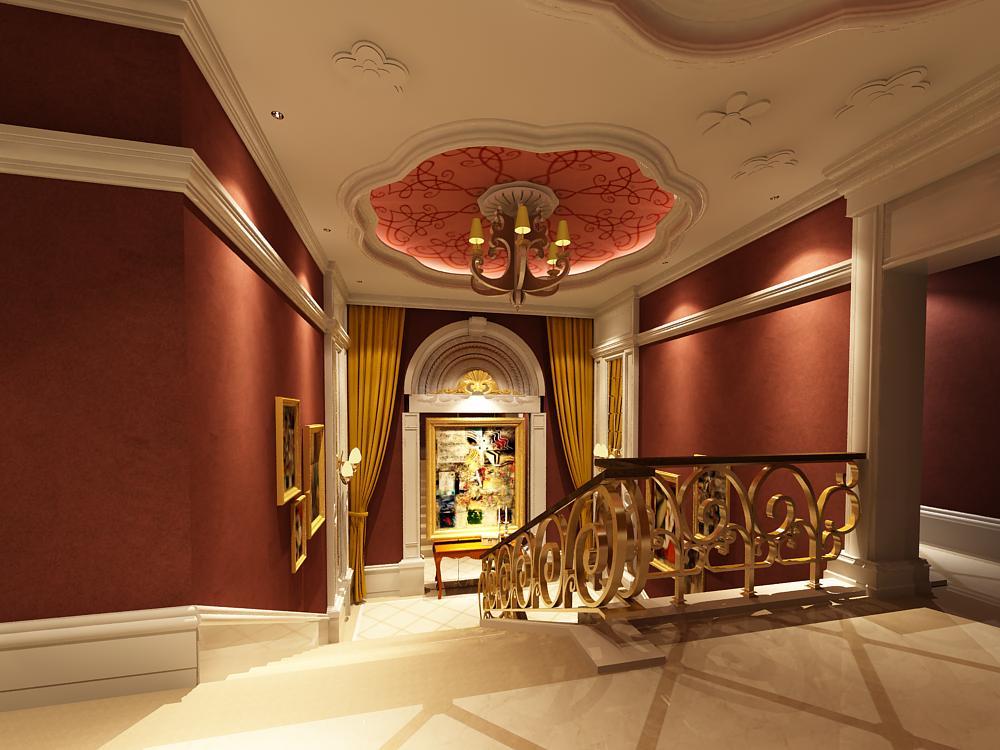 corridor 012 3d model max 139463