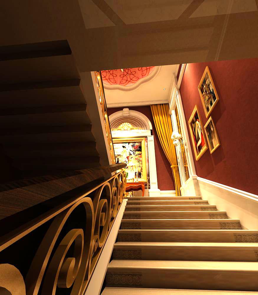 corridor 012 3d model max 139464