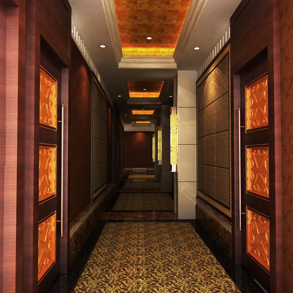 corridor 014 3d model max 139466