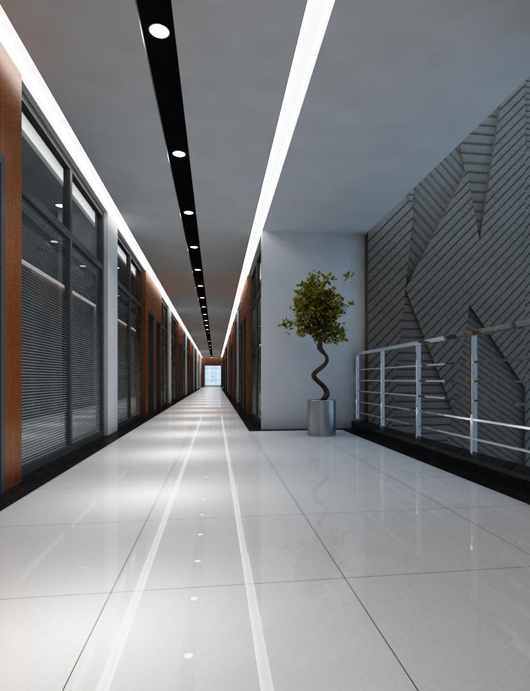 corridor 015 3d model max 139468