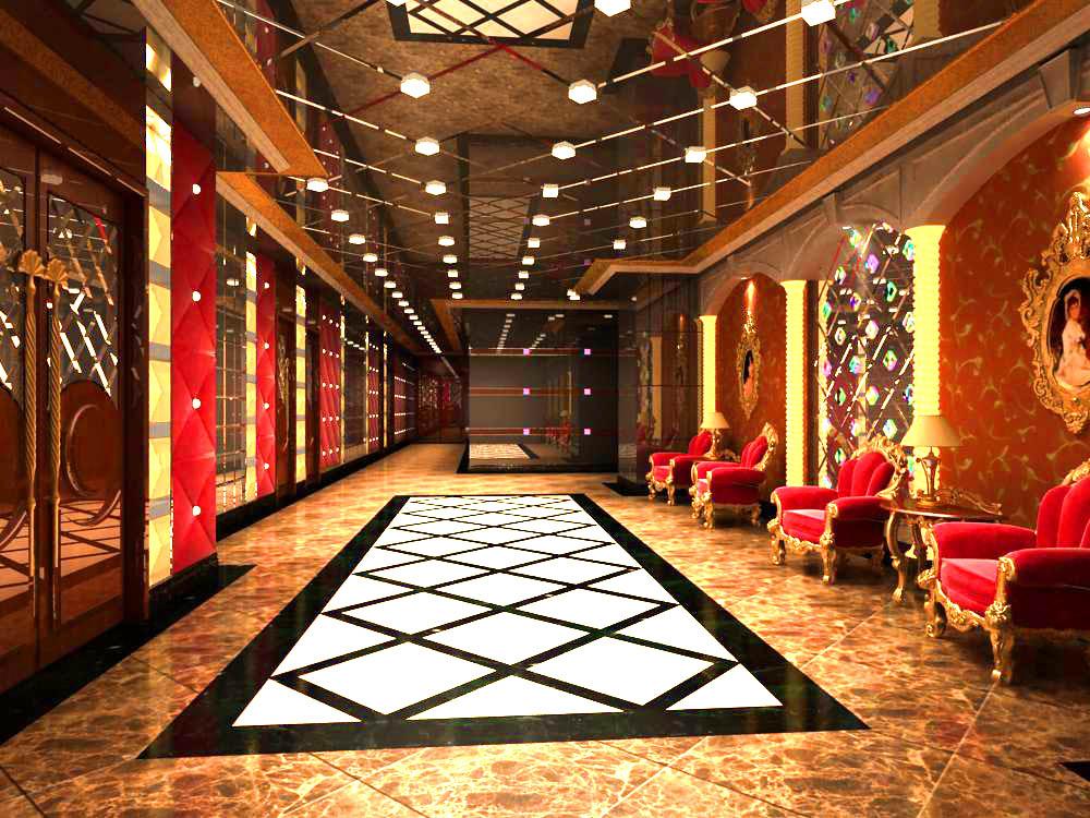 corridor 016 3d model max 139470