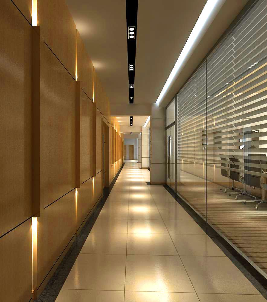 corridor 017 3d model max 139472