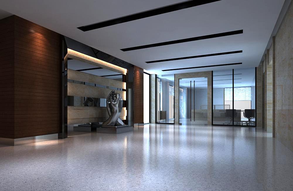 corridor 018 three 3d model max 139474