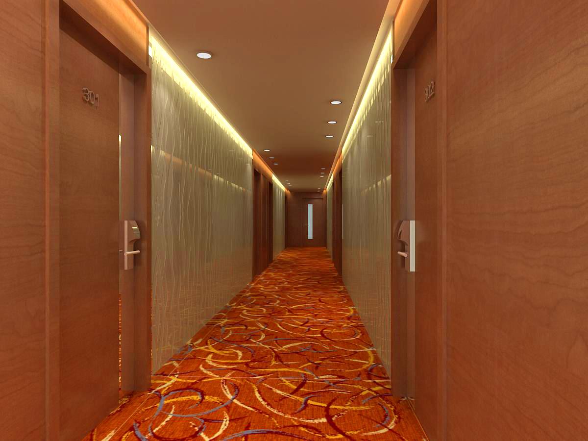 corridor 018 two 3d model max 121754