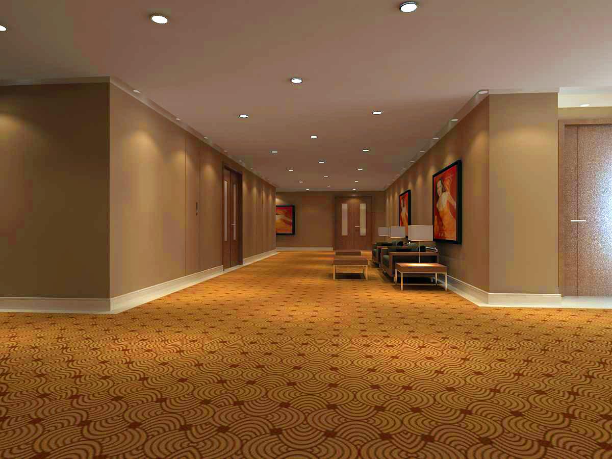 corridor 019 3d model max 121750