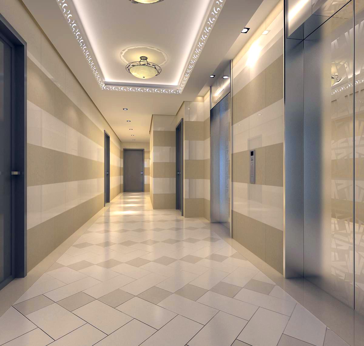 corridor 020 3d model max 121752