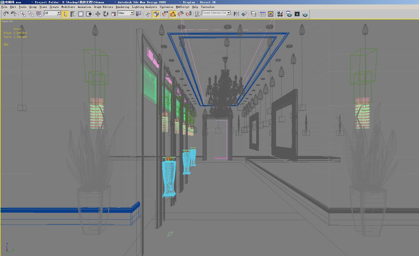 corridor 022 two 3d model max 139483